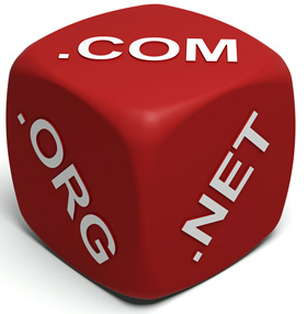 Domenske končnice .com, .net, .org