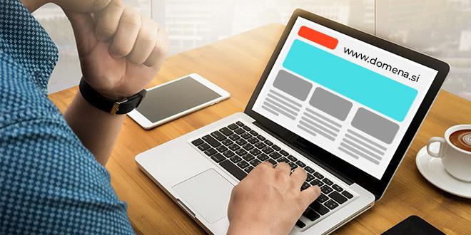 Povezava med optimizacijo spletne strani in domeno