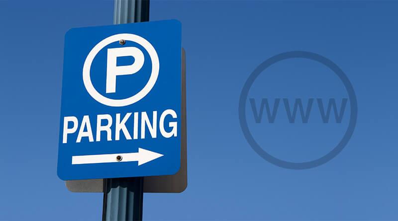 Kaj je parkirana domena?