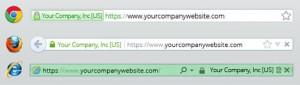 EV SSL certifikat