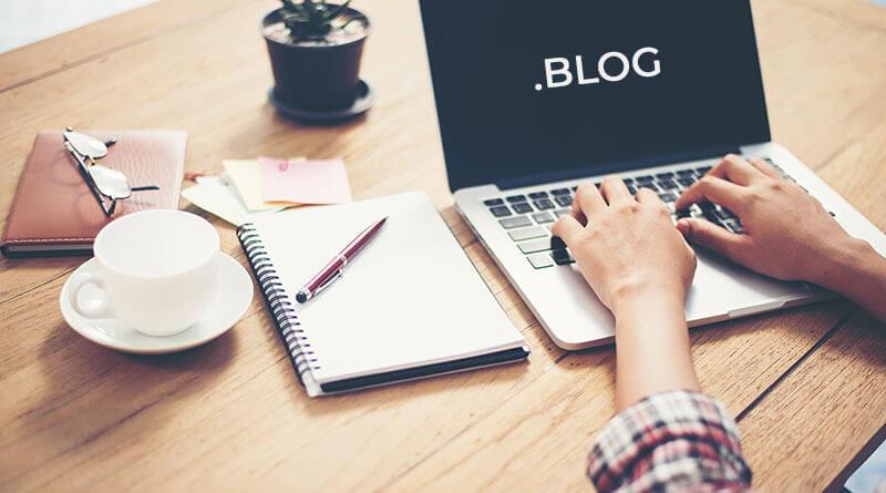 Ste vedeli, da lahko registrirate domeno .blog?