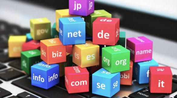 Izbira končnice domene